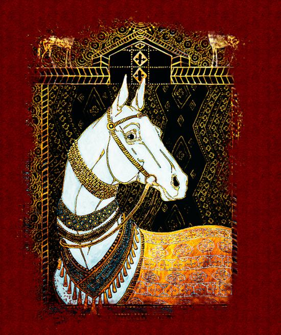 نگاهی کوتاه به تاريخ اسب تركمن
