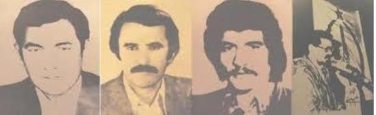 یاد فدائیان خلق، رهبران خلق ترکمن توماج، مختوم، واحدی و جرجانی گرامی باد!